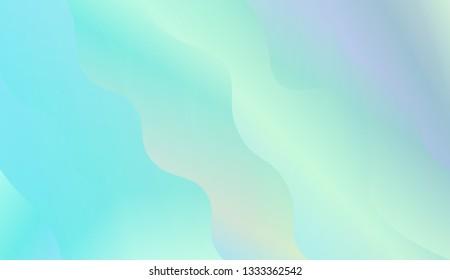 Fluid shapes composition. Design with color of curves. Background for Wallpaper, Web Design, Brochure, Visit Card. Vector wave pattern for backgrounds