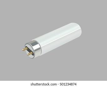 Fluorescent light bulb.