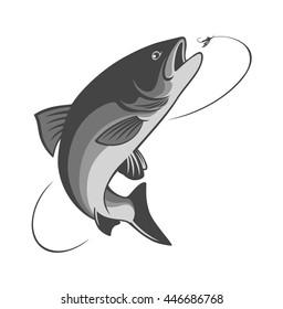 fly fishing salmon
