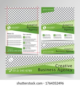 Flyer, Banners, and Social media Business design templates