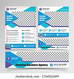 Flyer, Banners, and Social media design templates