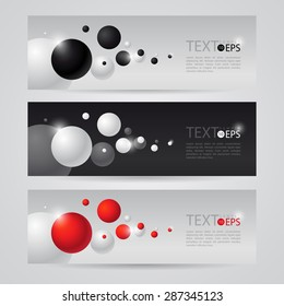 flyer black white vector with flying balls