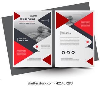Flyer brochure design, business flyer size A4 template, creative leaflet, trend cover