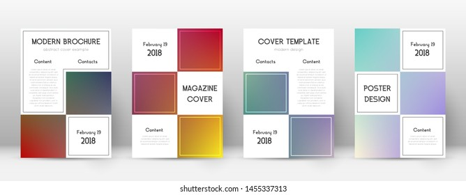 Flyer layout. Business mind-blowing template for Brochure, Annual Report, Magazine, Poster, Corporate Presentation, Portfolio, Flyer. Adorable gradient cover page.