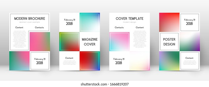 Flyer layout. Business mind-blowing template for Brochure, Annual Report, Magazine, Poster, Corporate Presentation, Portfolio, Flyer. Admirable bright cover page.