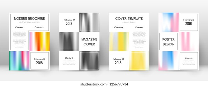 Flyer layout. Business sublime template for Brochure, Annual Report, Magazine, Poster, Corporate Presentation, Portfolio, Flyer. Adorable lines cover page.