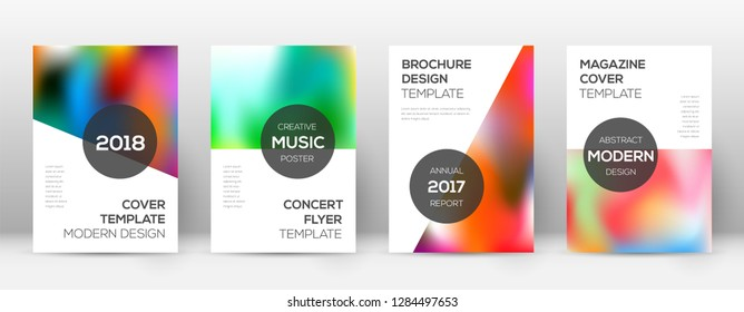 Flyer layout. Modern mind-blowing template for Brochure, Annual Report, Magazine, Poster, Corporate Presentation, Portfolio, Flyer. Attractive colorful cover page.