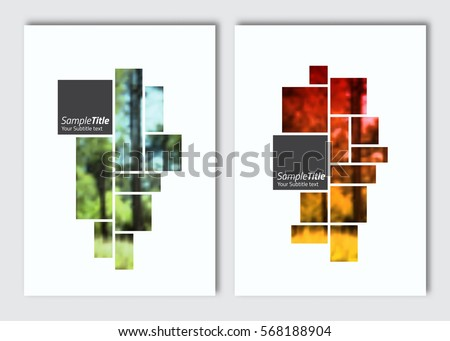 flyer layout template vector brochure background のベクター画像素材