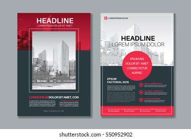 Flyer / Leaflet / Brochure / Poster / vector layout design template in A4 size