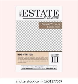 flyer real estate magazine modern temolate