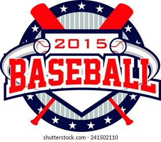 Flying Baseball Logo