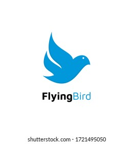 flying bird logo vecor design