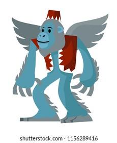 flying blue monkey