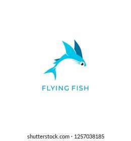 Flying Fish Logo Design