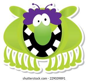 Flying Green Monster