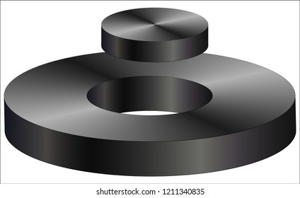 flying magnet - magnetic levitation