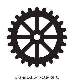 Flywheel symbol, web and computer icon