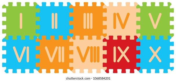 Roman Numbers Images Stock Photos Amp Vectors Shutterstock