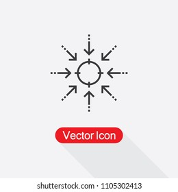 Focus Icon Vector Illustration Eps10