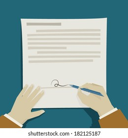 focus on signature