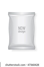 Foil package, vector for new design