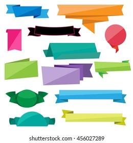 Folded Ribbon Vectors