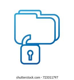 folder file security protection data digital