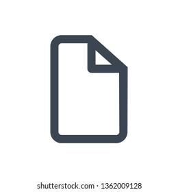Folder,Document file vector icon