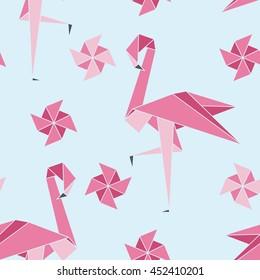 Folding Flamingos
