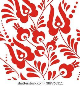 Folk ornament pattern