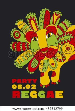 folk style lion reggae