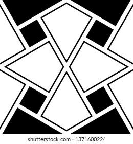 Folk wallpaper.Rhombuses, kites motif. Ethnic ornament.Quadrangles background.Geometric backdrop. Tribal pattern. Seamless vector. Digital paper, textile print, abstract