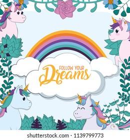 Follow you dreams cartoons