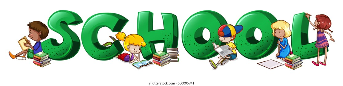 School Word Images, Stock Photos & Vectors | Shutterstock