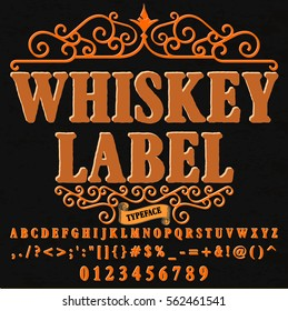 font handwritten vector Calligraphic vector vintage alphabet,vector,script,font,labels,designers for typeface,grunge,banners with decoration,handcrafted,Hand Lettering named  whiskey label