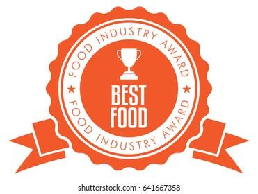 Food Award badge