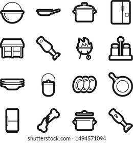 Food best vector icon set