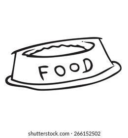 Food Bowl Doodle
