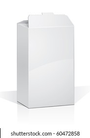 food cardboard box for new design, vector