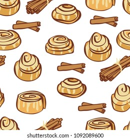 Cinnamon Roll Sweet Egg Clip Art - Cake - Just Say No Pictures Transparent  PNG