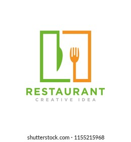 Food and Cook Logo template