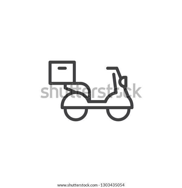 food delivery scooter vector icon filled stock vector royalty free 1303435054 https www shutterstock com image vector food delivery scooter vector icon filled 1303435054
