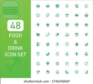 Food And Drink Color Icon