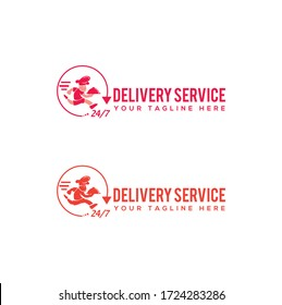 Food and Drinks Delivery Company Logo
