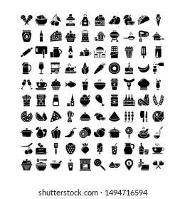 Food & Drinks Vector Illustration EPS 10