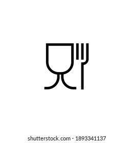 food grade sign icon vector symbol