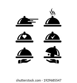 Food Icon Service Set Simple Design for you