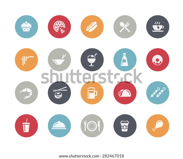 Food Icon Set 2 of 2 // Classics Series