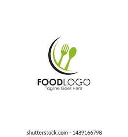 Food logo icon design inspiration vector template