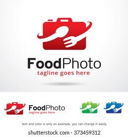 Food Photo Logo Design Template